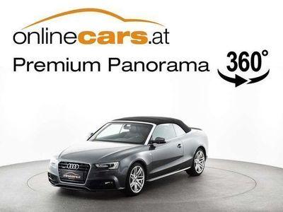 gebraucht Audi A5 Cabriolet Cabrio Sportpaket quattro 2,0 TDI XENON NAVI... / Roadster,