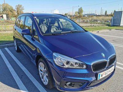 gebraucht BMW 220 Gran Tourer 2er-Reihe d 7-Ledersitz,Head-UP,Navi+,LED, Kombi / Family Van