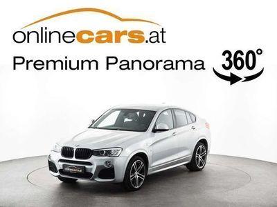 gebraucht BMW X4 xDrive30d Aut. M-PAKET NAVI XENON LEDER Ö.-Paket