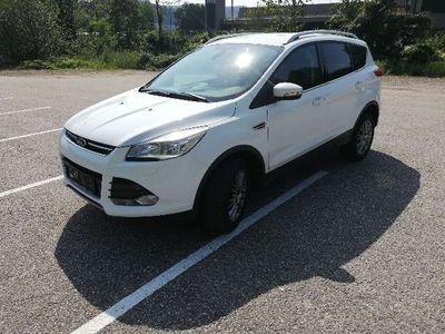 """gebraucht Ford Kuga 2,0 TDCi/163PS Titanium 4x4 /Navi /Klimaaut./ beh.WSS / Winterpaket /17"""" Alu SUV / Geländewagen"""