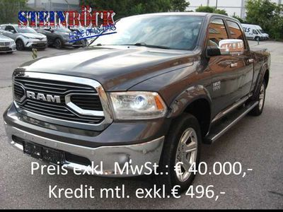 gebraucht Dodge Ram Crew Cab Longbed Limited € 40.000 NETTO