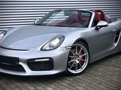 gebraucht Porsche Boxster Spyder 981 3,8, *** Rarität - sehr selten ***