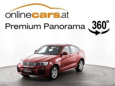 used BMW X4 xDrive 35d M-SPORT Aut. STANDHEIZUNG HEAD-UP