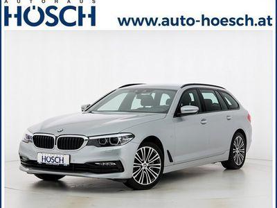 gebraucht BMW 530 5er-Reihe i Touring Sport Line Aut. LP: 69.368.-€ Kombi / Family Van,