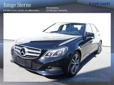 gebraucht Mercedes E220 BlueTEC 4MATIC Limousine