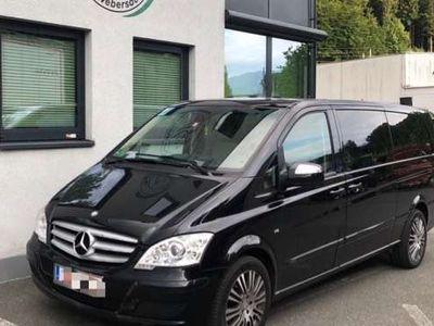 gebraucht Mercedes Viano Ambiente extralang 3,0 CDI BlueEfficiency DPF Aut.