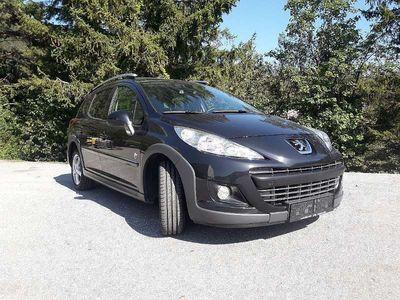 gebraucht Peugeot 207 Outdoor SW 1,6 HDi 95 FAP, Leder, Klein-/ Kompaktwagen,