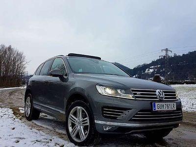 gebraucht VW Touareg Sport V6 TDI BMT 4Motion SUV / Geländewagen
