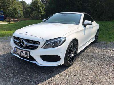 gebraucht Mercedes C250 Cabrio Aut. AMG Paket•LED•BURMESTER•360° Kamera