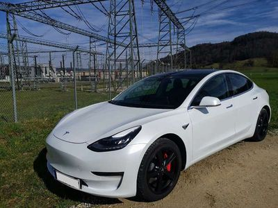 gebraucht Tesla Model 3 Performance 490PS, Premium, Garantie Limousine