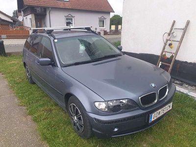 gebraucht BMW 318 3er-Reihe d Touring E46 Kombi / Family Van