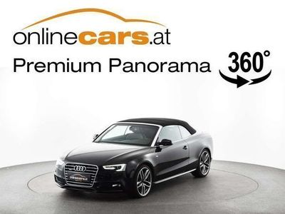 brugt Audi A5 Cabriolet Cabrio quattro 3,0 TDI S-tronic S-line LEDER... / Roadster,