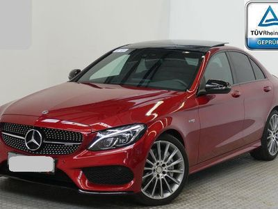 brugt Mercedes C43 AMG AMG (W205) 4MATIC Aut. AMG-LineLED Panorama ILS Nachtp