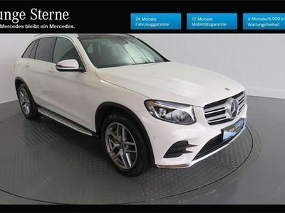 gebraucht Mercedes GLC250 d 4MATIC AMG LINE