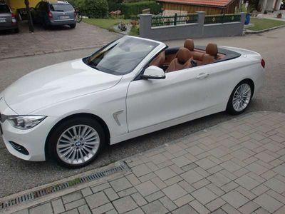 gebraucht BMW 420 4er-Reihe d Cabrio Cabrio / Roadster