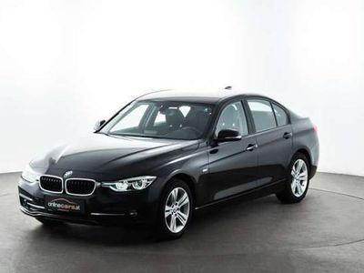 gebraucht BMW 318 d Sport Line LED AHK NAVI TEMP SHZ SALE