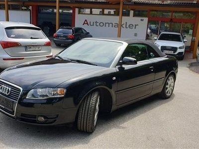 gebraucht Audi A4 Cabriolet 1,8 T Multitronic S-line,Xenon,Sitzheizung Cabrio / Roadster,