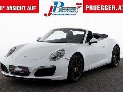 gebraucht Porsche 911 Carrera 4 Cabriolet 911 991 PDK 1.BESITZ NUR 16.315KM