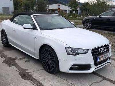 gebraucht Audi A5 Cabriolet 2.0 TFSI Quattro S-Line S Tronic Automatik / Roadster