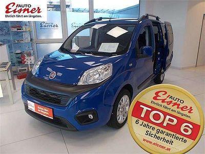 gebraucht Fiat Fiorino Qubo Qubo 1,3 MultiJet II 80 Lounge Kombi / Family Van,
