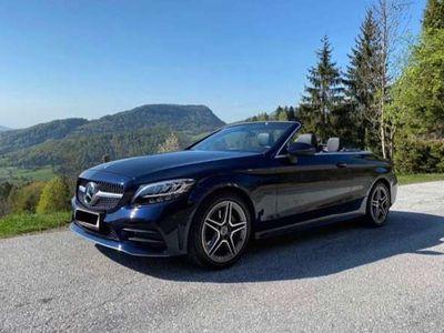 gebraucht Mercedes C200 Cabrio Aut. AMG Facelift Junge Sterne Garantie