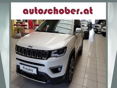 gebraucht Jeep Compass 2,0 MultiJet AWD 6MT 140 Limited