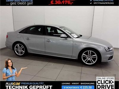 gebraucht Audi A4 2,0 TDI Aut. +S line, Navi, Xenon
