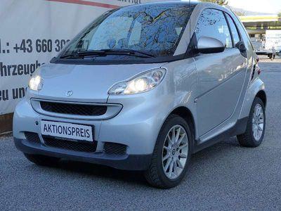 gebraucht Smart ForTwo Coupé Passion, PANORAMADACH, Pickerl NEU bis 06.2 Klein-/ Kompaktwagen