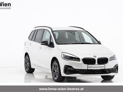 gebraucht BMW 218 Gran Tourer 2er-Reihe d xDrive Sport Line Aut. Kombi / Family Van