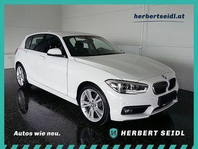 used BMW 120 1er-Reihe i Advantage Aut. *LED / NAVI / LEDER* Limousine,