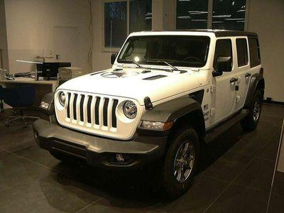 gebraucht Jeep Wrangler Unlimited Freedom 2,2 CRDi Aut. Unlimited Sport