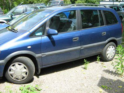 gebraucht Opel Zafira 101 PS --DIESEL