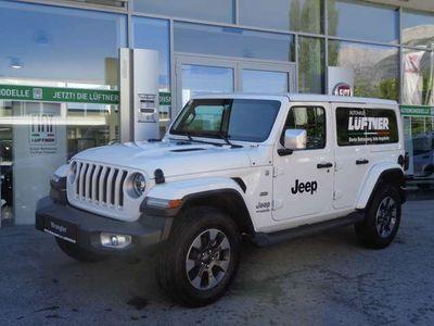 gebraucht Jeep Wrangler Unlimited Sahara 2,2 CRDi Aut.