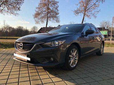 gebraucht Mazda 6 6Sport Combi CD150 Attraction Kombi / Family Van,