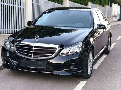 gebraucht Mercedes E220 Automatik Black Edition Limousine