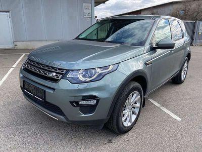 gebraucht Land Rover Discovery Sport Leder Navi Xenon Motorgeräusch SUV / Geländewagen