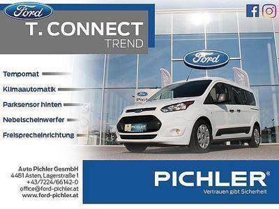 gebraucht Ford Tourneo Connect Trend 1,5TDCi 120PS BLUETO./KLIMAAUT./1.BESITZ