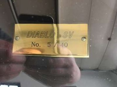 gebraucht Lamborghini Diablo DiabloSV (SuperVeloce) Sportwagen / Coupé