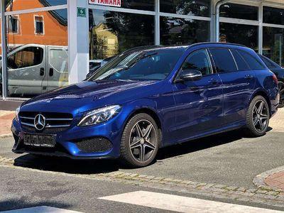 gebraucht Mercedes C220 C-Klassed T 4MATIC AMG Line Aut. *Voll* Kombi / Family Van