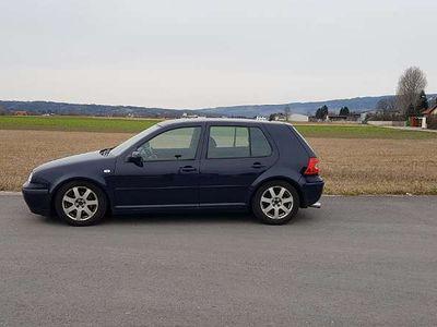 gebraucht VW Golf IV GTI 2.3 5 Zylinder Klein-/ Kompaktwagen