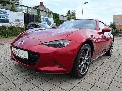 gebraucht Mazda MX5 RF SKYACTIV-G 160 SPORTS, AUTOMATIK, NAVI, LEDER Megapreis!!!! Cabrio / Roadster
