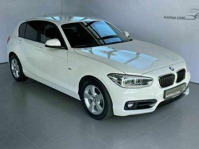 gebraucht BMW 118 d Sport Line Aut. *LED*RFK*NavigationProf.*AHK*