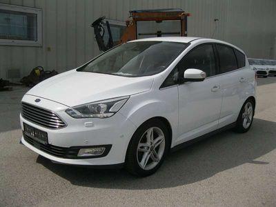 gebraucht Ford C-MAX 1.5 TDCI TITANIUM PICKERL SERVICE NEU Kombi / Family Van