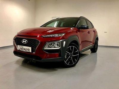 gebraucht Hyundai Kona 1,6 T-GDi 4WD DCT Aut. 18 Zoll Alufelgen