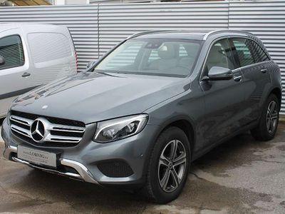 gebraucht Mercedes E250 GLC-Klasse GLC d 4MATIC Aut. LED PANO LUFT NAVI VOLL SUV / Geländewagen