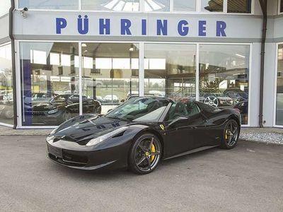 gebraucht Ferrari 458 Spider *LED Lenkrad*Racingsitze*