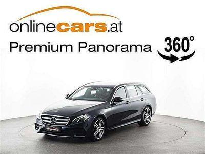 gebraucht Mercedes E200 E-KlasseT Aut AMG LED NAVI MEGAPREIS Kombi / Family Van