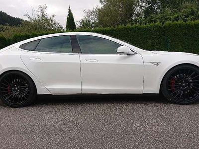 gebraucht Tesla Model S P90DL Supercharger Kostenlos Autopilot Limousine