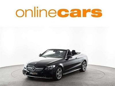 gebraucht Mercedes C180 Cabrio Aut. AMG NAVI LED ASSISTENZ