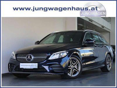 gebraucht Mercedes C300 C-KlasseAMG LINE Aut. Leder UVP 65.766,80.- Kombi / Family Van